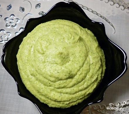 Соус из брокколи для рыбы