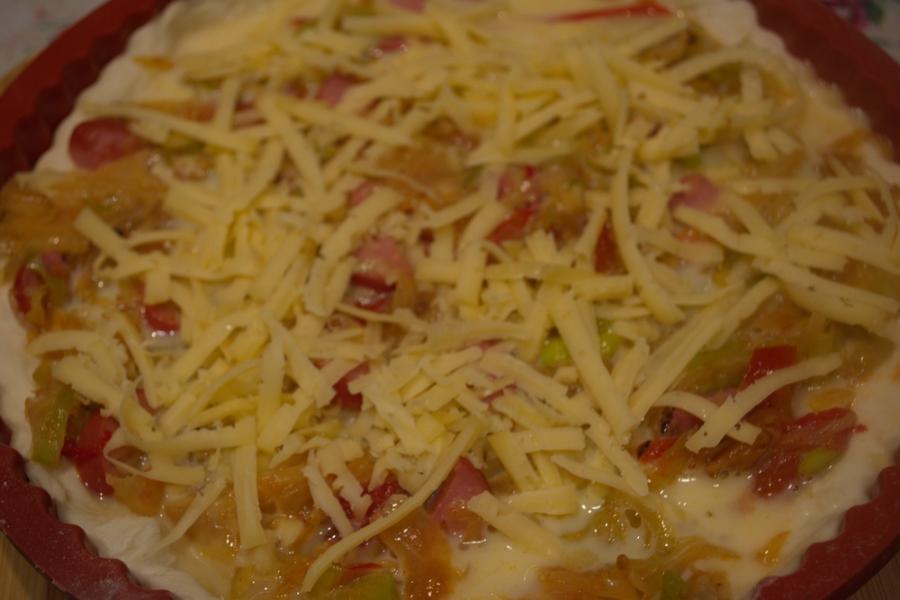 Пирог с капустой и овощами - фото шаг 8