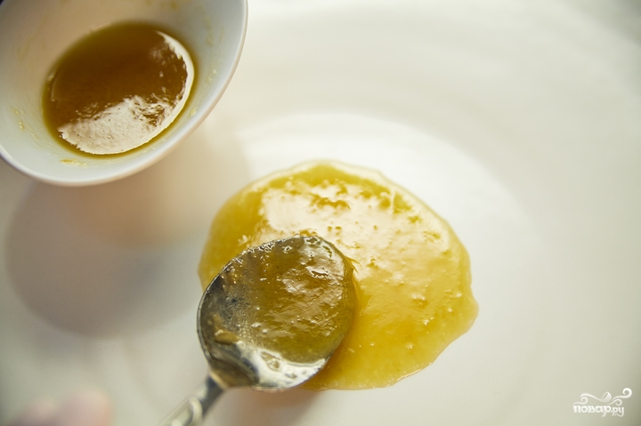соус из лимонного сока и оливкового масла