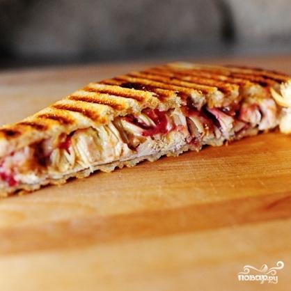 Швейцарский бутерброд с индейкой - фото шаг 8