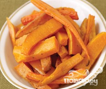 Рецепт Жареные сладкие овощи