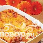 Рецепт Лазанья с беконом и сыром Колби