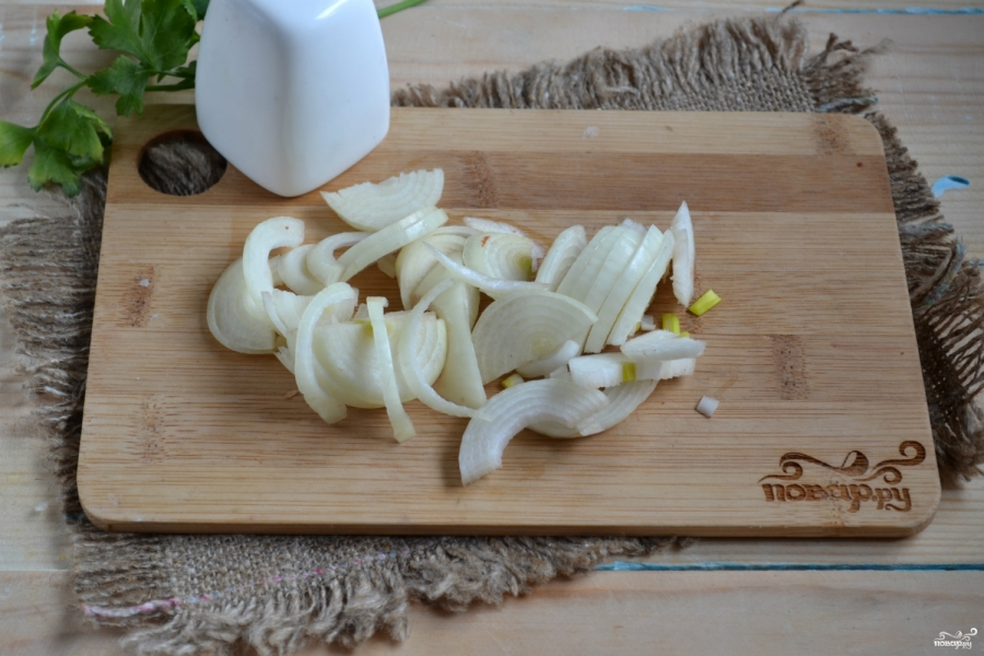 салат из печени со сметаной рецепт