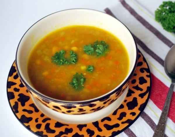 Овощной суп с тыквой - фото шаг 5