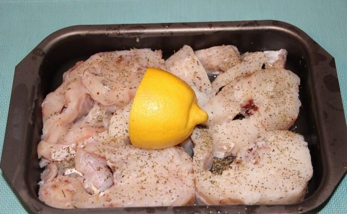 Рецепт Треска под соусом в духовке
