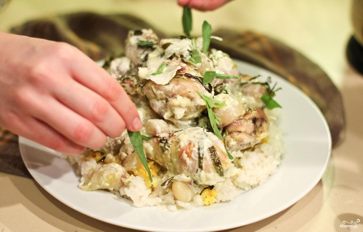 Блюдо из рыбы в духовке судак