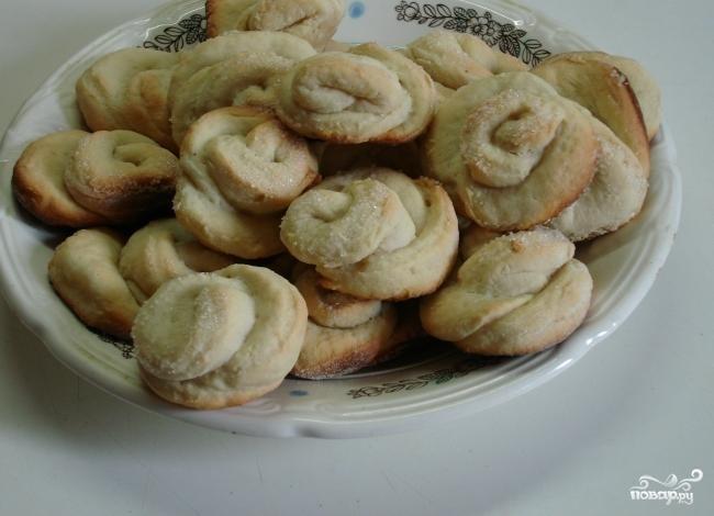 Печенье розочки пошаговый рецепт