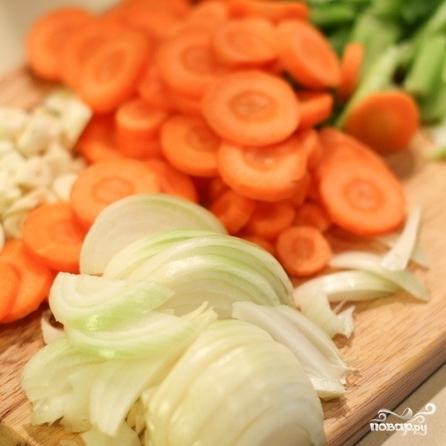Рецепт Рагу со свининой, овощами и лапшой