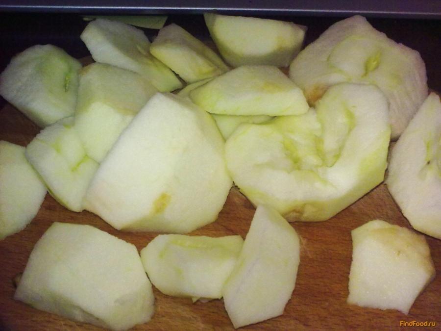 Замороженные яблоки на зиму  - фото шаг 1
