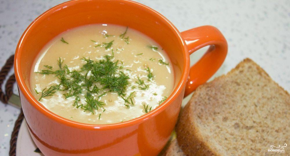 Рецепт суп пюре из фасоли