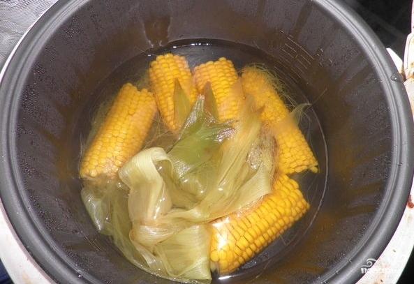 Кукуруза в мультиварке - фото шаг 2