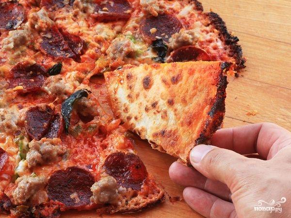 """Пицца """"Пятиминутка"""" - фото шаг 4"""