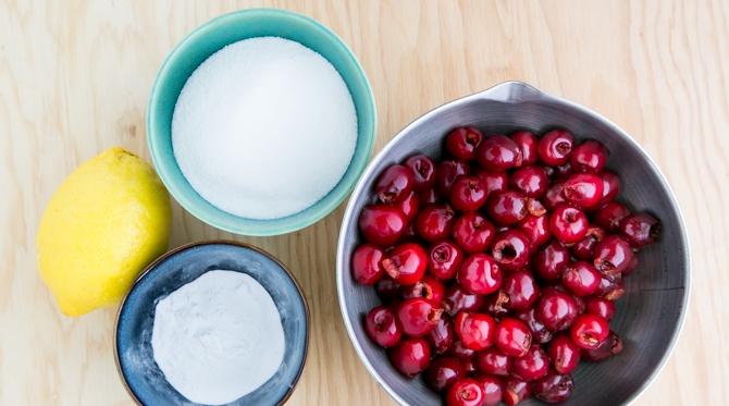 Рецепт Кисель из свежей вишни