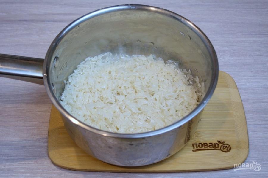 Рис по-кантонски - фото шаг 1