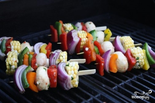 Маринад для овощей на гриле - фото шаг 6