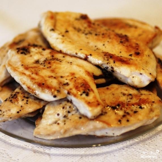 Салат с кукурузой и курицей - фото шаг 5
