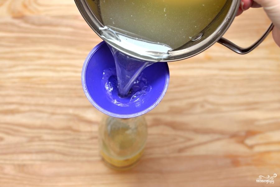 Лимонный сироп - фото шаг 5
