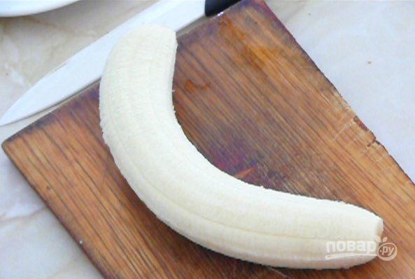 Кексы банановые в силиконовых формочках - фото шаг 5