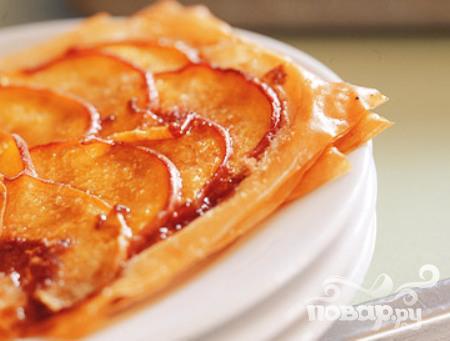 Рецепт Печенье с персиками