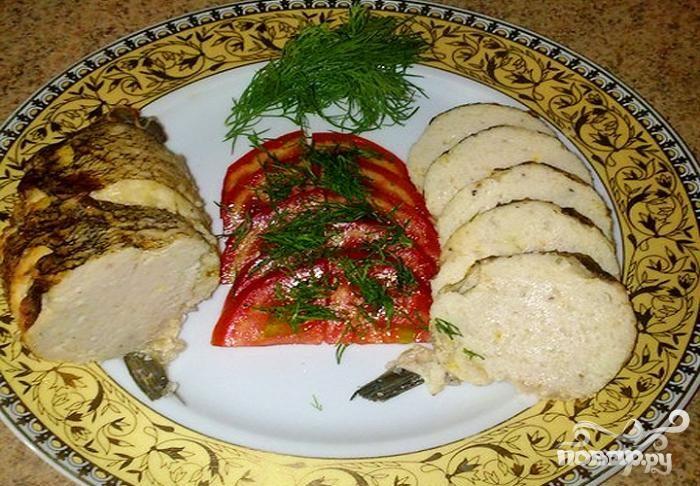 фаршированная рыба пошаговый рецепт с фото