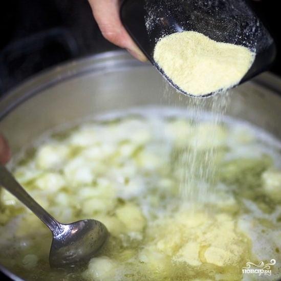 Куриный суп с цветной капустой - фото шаг 6