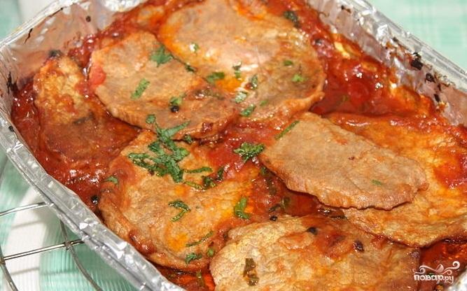 Соус для мяса в духовке
