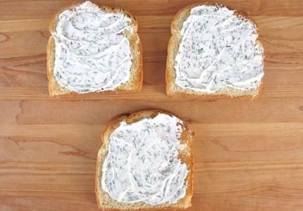 Сэндвич с семгой  - фото шаг 2