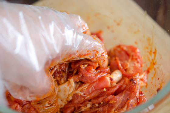 Свинина по-корейски - фото шаг 3