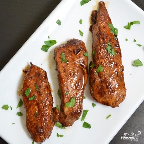 Курица в медовом соусе - фото шаг 9