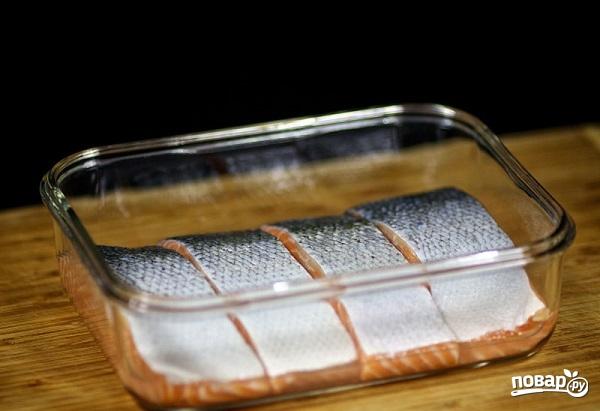 Стейк лосося в духовке - фото шаг 5