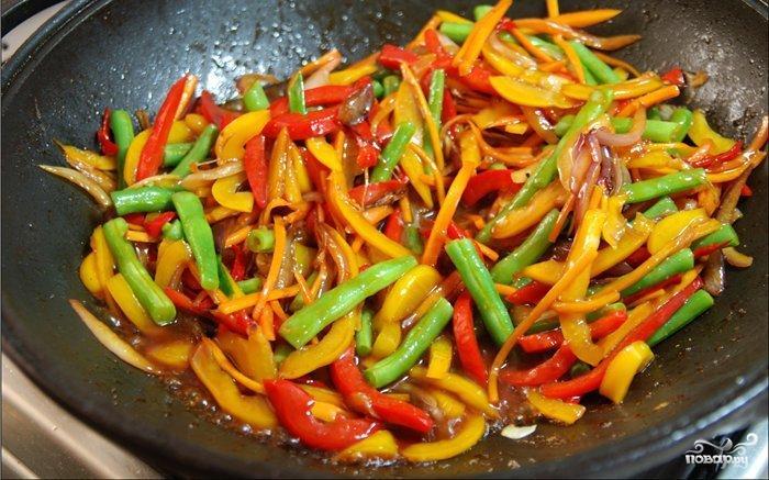 Стир-фрай с овощами - фото шаг 4