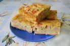 Ленивый пирог на кефире