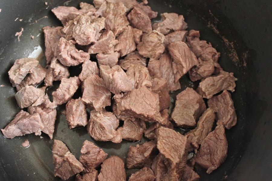 Рагу из говядины с белой фасолью - фото шаг 5