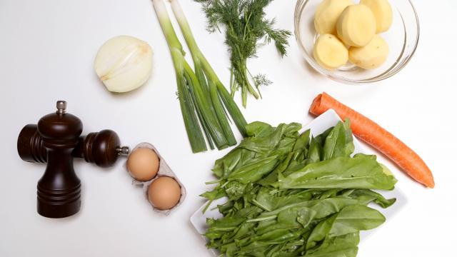 Рецепт Щавелевый суп без мяса