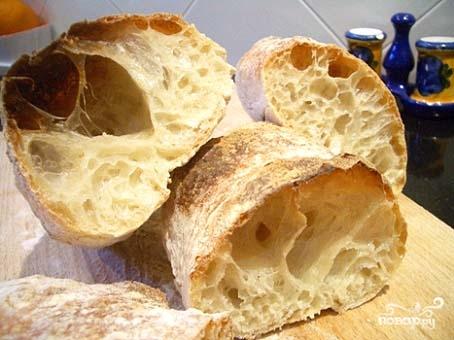 Рецепт Чиабатта в хлебопечке