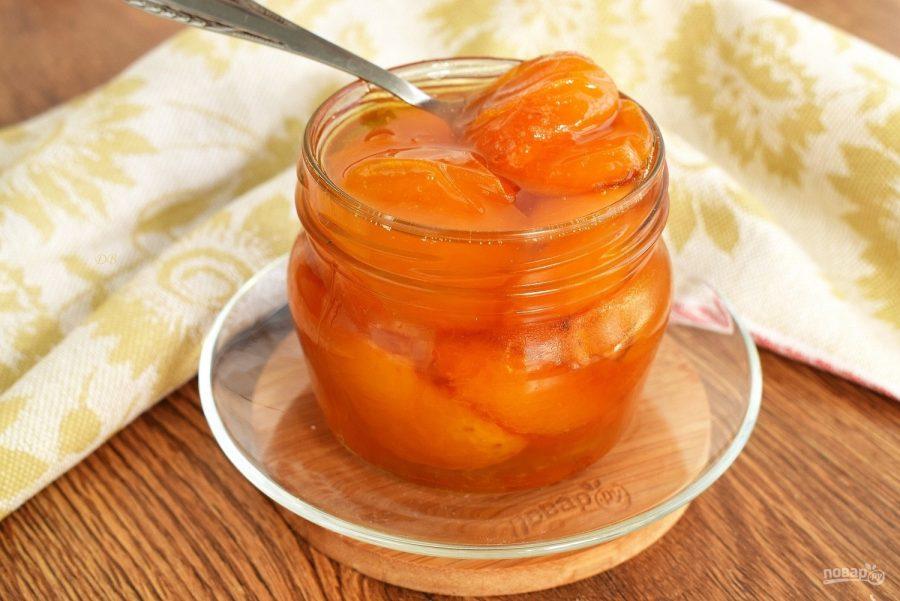 Варенье из абрикосов с лимоном