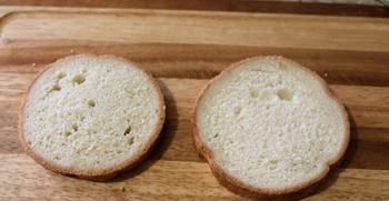 Маленькие бутерброды для детей - фото шаг 1