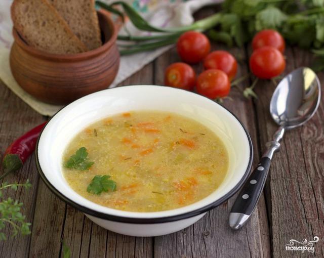Суп картофельный с крупой - фото шаг 4