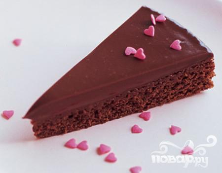 Рецепт Шоколадные пирожные с глазурью