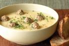 Суп-пюре из кабачков и цветной капусты