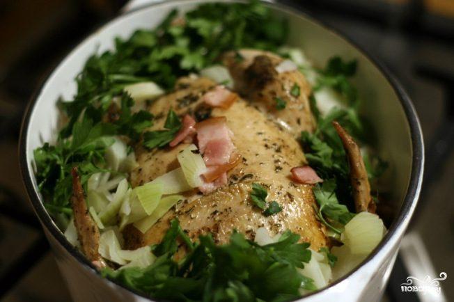 Ароматная курица в духовке