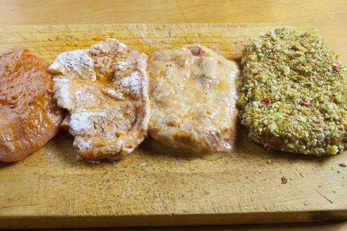Мясо в панировке - фото шаг 5