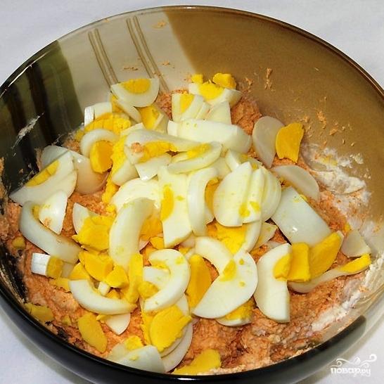 Салат с редисом и творогом - фото шаг 3