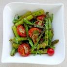 Рецепт Грибной салат со спаржей