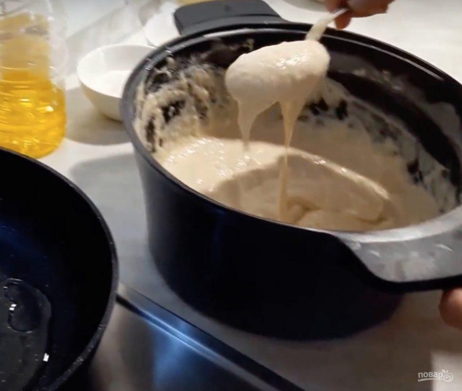 Как делать оладушки на молоке рецепт