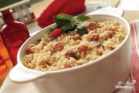 Рецепт Рис с мясом в мультиварке