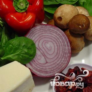 Салат из шпината на гриле - фото шаг 1