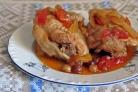 Куриные бедрышки под соусом