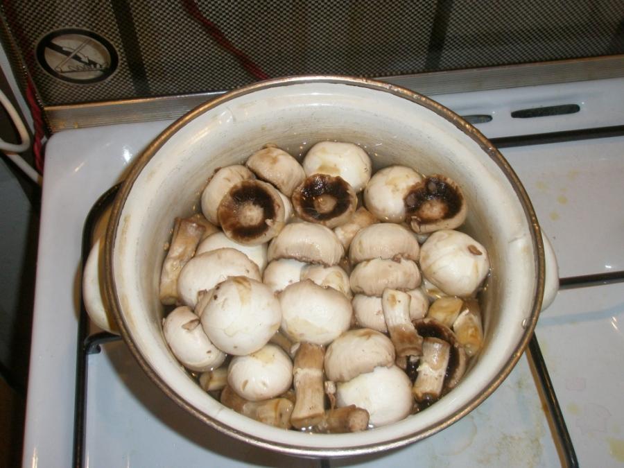 Телятина с грибами в сметане - фото шаг 1