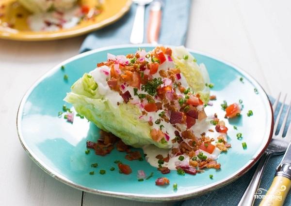 Салат из айсберга - фото шаг 8